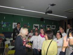 Поли Генова гостува на Дневен център