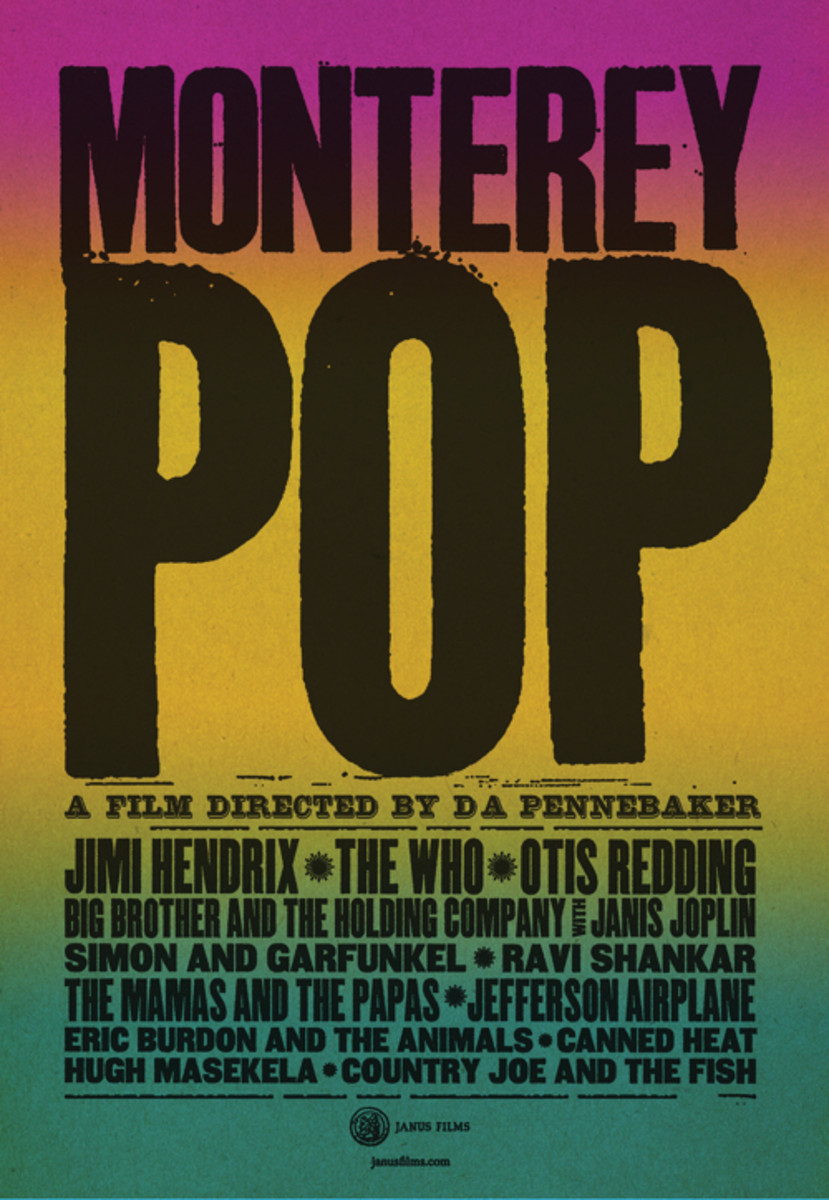 monterey pop 2017 poster photo courtesy janus films